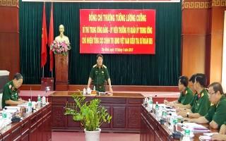 Chủ nhiệm Tổng cục Chính trị QĐND Việt Nam kiểm tra tại Sư đoàn 5