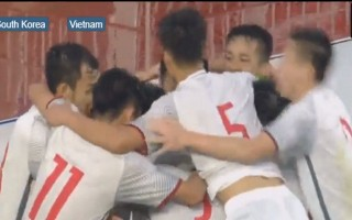 U-19 VN cầm chân Hàn Quốc