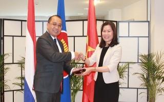 Việt Nam đảm nhiệm vai trò Chủ tịch luân phiên Ủy ban ASEAN tại The Hague