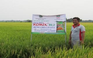 Khuyến khích sản xuất lúa theo hướng hữu cơ