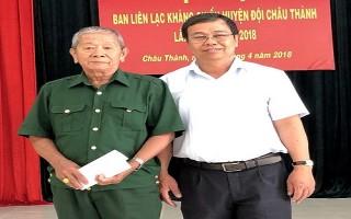 Châu Thành: Họp mặt Ban liên lạc Huyện đội