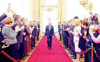 Tổng thống Putin nhậm chức nhiệm kỳ thứ 4