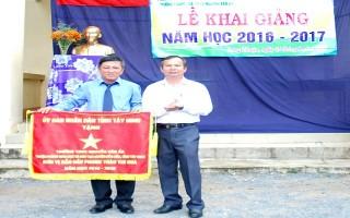 Công nhận Trường THCS Nguyễn Văn Ẩn đạt chuẩn quốc gia