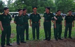 Bộ Tư lệnh Quân khu 7: Kiểm tra công tác tại Sư đoàn 5