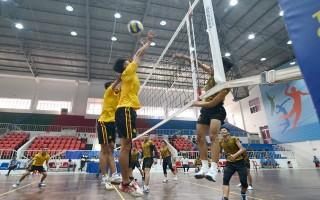 Khởi tranh môn Bóng chuyền ÐH.TDTT tỉnh Tây Ninh lần VIII năm 2018: Hấp dẫn ngay từ đầu