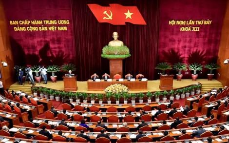 Thông cáo báo chí về ngày làm việc thứ 5 của Hội nghị Trung ương 7 khóa XII