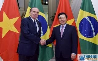 Nhiều dư địa cho hợp tác thương mại, đầu tư giữa Việt Nam và Brazil