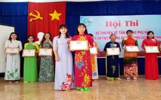 """Thi kể chuyện về gương phụ nữ """"Học tập và làm theo tư tưởng, phong cách, đạo đức Hồ Chí Minh"""""""