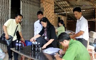 Phát hiện cơ sở sản xuất nước tương bẩn tại TP.Tây Ninh