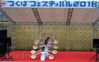 Áo dài và ẩm thực Việt Nam nổi bật trong lễ hội Nhật Bản