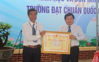 Công nhận Trường Tiểu học Long Thành Bắc B đạt chuẩn quốc gia