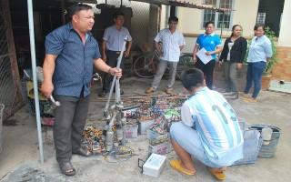 Long Khánh: Tiêu huỷ tang vật đánh bắt thuỷ sản trái phép
