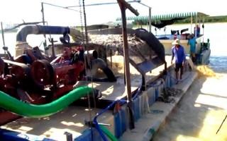 Kiểm tra hoạt động khai thác khoáng sản khu vực hồ Dầu Tiếng