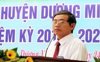 Khai mạc Đại hội đại biểu Hội Nông dân huyện Dương Minh Châu