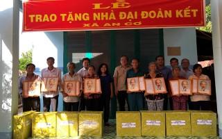 Bàn giao 30 căn nhà ĐĐK cho người nghèo huyện Châu Thành