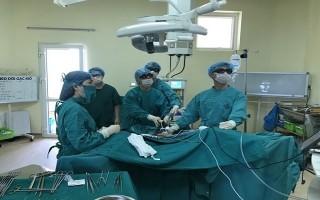 Bệnh viện K thực hiện thành công phẫu thuật nội soi 3D - 1 lỗ Trocart