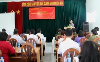 Tây Ninh phát động Tháng cao điểm dự phòng lây truyền HIV từ mẹ sang con