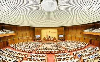 Quốc hội nghe báo cáo dự án Luật Phòng, chống tham nhũng (sửa đổi)