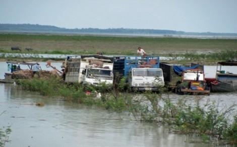 Thông báo giải toả, thu dọn mặt bằng đất bán ngập hồ Dầu Tiếng