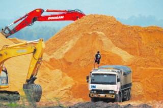 Giá cát xây dựng tăng mạnh