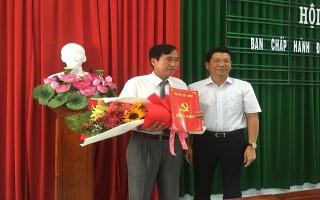 Bổ nhiệm Phó Bí thư Thường trực Huyện ủy Gò Dầu