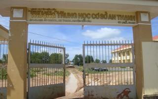 Đầu tư trên 13,4 tỷ đồng xây dựng Trường THCS An Thạnh đạt chuẩn quốc gia