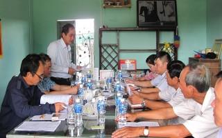 Khảo sát, lựa chọn HTX tại Tây Ninh tham gia mô hình chuỗi giá trị năm 2018