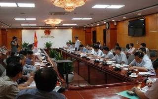 Công bố quyết định thanh tra Bộ Công Thương
