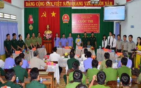 Thi tìm hiểu tư tưởng Hồ Chí Minh và nghiệp vụ công tác thi đua, khen thưởng