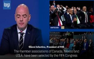 World Cup 2026 tổ chức ở 3 quốc gia