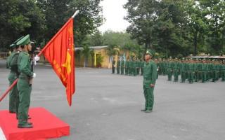 Bộ đội Biên phòng Tây Ninh tuyên thệ chiến sĩ mới