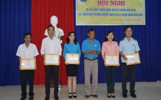Công đoàn Viên chức Tây Ninh:  sơ kết hoạt động 6 tháng đầu năm 2018