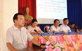 Đại biểu HĐND hai cấp tiếp xúc cử tri trước kỳ họp HĐND giữa năm 2018