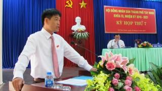 Bế mạc Kỳ họp thứ 7 HĐND thành phố Tây Ninh khóa XI, nhiệm kỳ 2016-2021