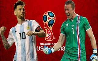 Argentina vs Iceland: Messi đối đầu đá tảng