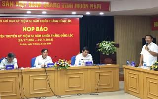 Hướng tới kỷ niệm 50 năm chiến thắng Đồng Lộc