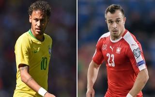 Brazil và Thụy Sĩ: Neymar khiêu vũ điệu samba