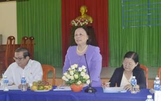 Ủy ban Quốc gia về người cao tuổi Việt Nam kiểm tra công tác tại Tây Ninh