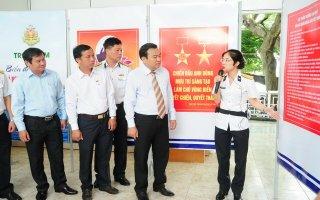 """Khai mạc triển lãm """"Biển, đảo và người chiến sĩ Hải quân"""" tại Tây Ninh"""