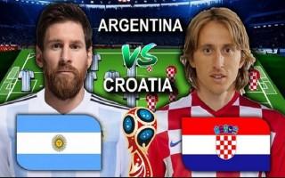 """World Cup hôm nay: Croatia rất """"rắn"""", Argentina khó thắng"""