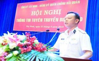Tỉnh uỷ Tây Ninh: Thông tin tuyên truyền về biển, đảo