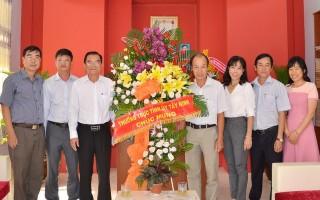 Thăm, chúc mừng Báo Tây Ninh nhân dịp 21.6