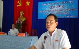 ĐBQH tiếp xúc cử tri cụm liên phường TP.Tây Ninh