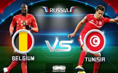 """Bỉ và Tunisia: """"Cơn lốc đỏ"""" cuốn phăng đối thủ"""