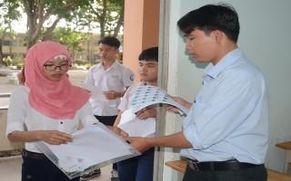 Tây Ninh: 40 thí sinh bỏ thi trong ngày đầu tiên