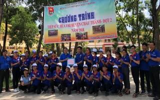 Tỉnh Đoàn Tây Ninh: Thăm các đội tình nguyện viên Tiếp sức mùa thi