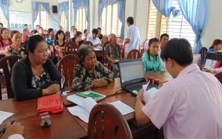 Ngân hàng CSXH Bến Cầu: Hỗ trợ vốn vay cho người dân Lợi Thuận