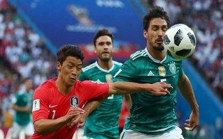 Đức 0-2 Hàn Quốc, Mexico 0-3 Thụy Điển: Đức bị loại từ vòng bảng