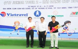 Khai mạc Giải quần vợt vô địch lứa tuổi trẻ lần 2, tranh cúp Hải Đăng 2018