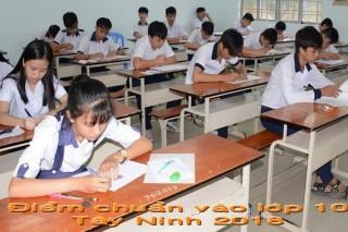 Công bố điểm chuẩn vào lớp 10 THPT năm học 2018-2019